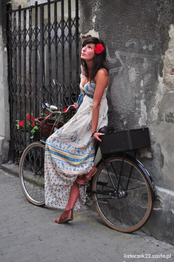 Romantyczne long dress