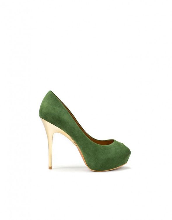 Aldo Green Pumps...