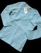 Nowa NEW LOOK niebieska bluzka M