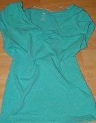 miętowa bluzeczka H&M NOWA