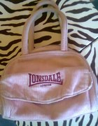 mała różowam torebka lonsdale...