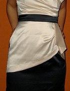 Nowa Sukienka Nude 36 S