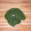 śliczna zielona apaszka