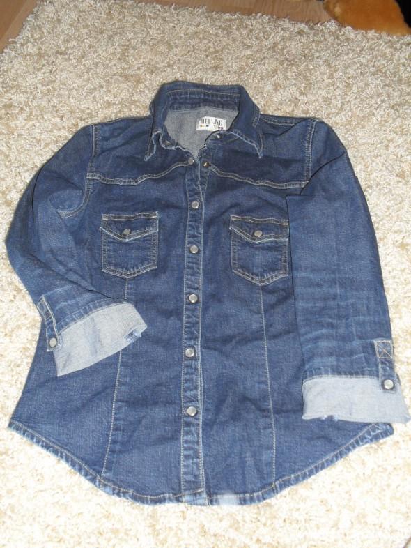 Jeansowa koszula 38