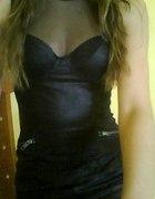 h&m 34 nowa sukienka siateczka zip