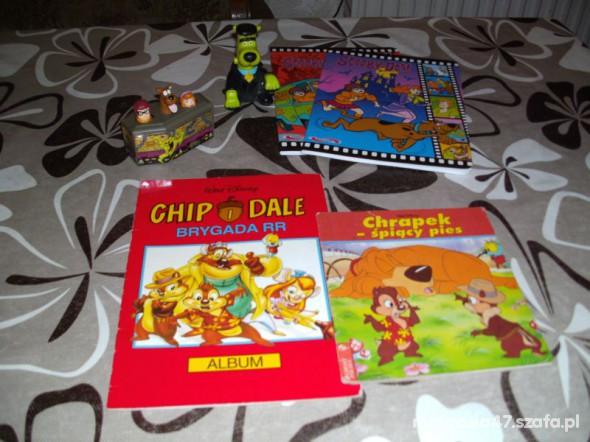 Zabawki Zeszyty plus figurki Scooby Doo
