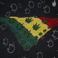 BANDAMA RASTA zielony żółty czerwony