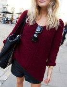 różne swetry oversize