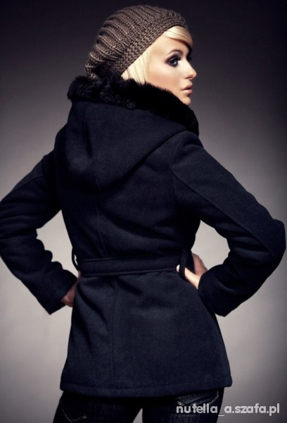 Ubrania PILNIE POSZUKUJĘ płaszcz krótki z kapturem XS S