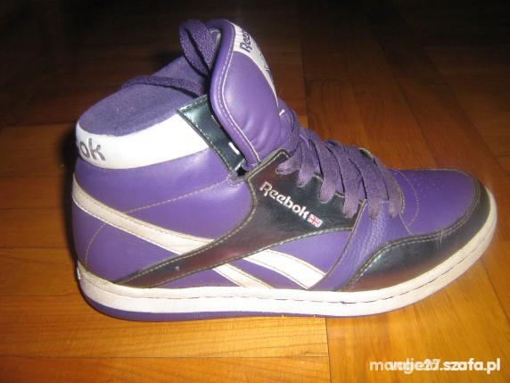 Chciałabym Fioletowe buty Reebok...