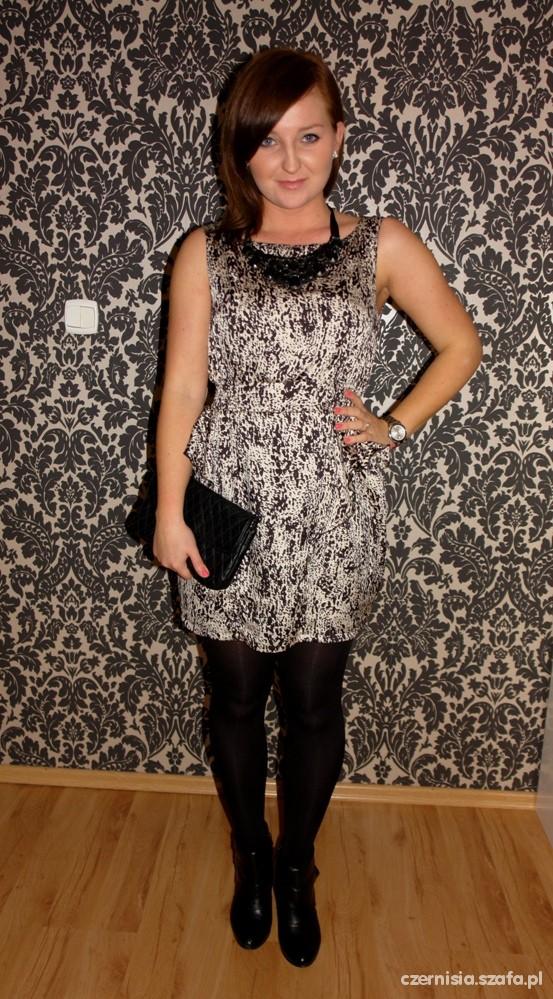 Mój styl mini sukienka