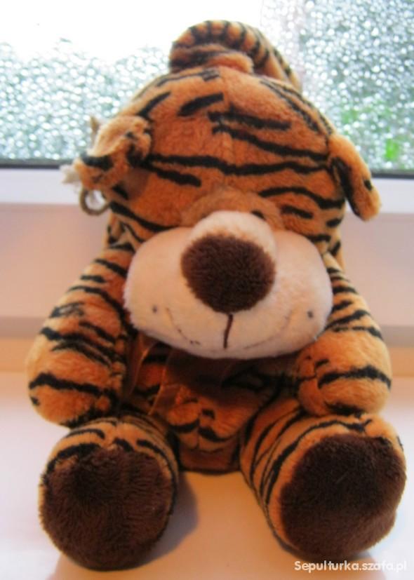 Zabawki torebeczka pluszowy tygrysek