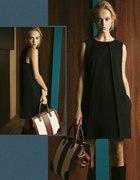 czarna sukienka Massimo Dutti