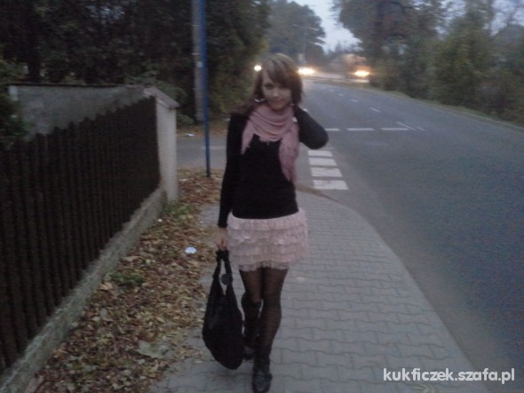 Mój styl tulle skirt