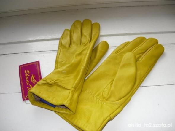 Rękawiczki żółte L...