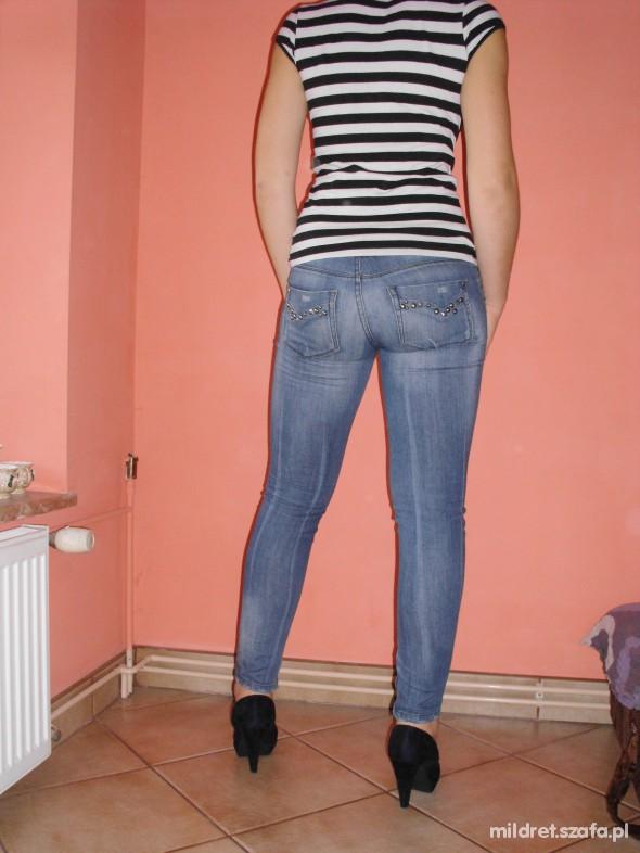 Super spodnie z dżetami w Spodnie - Szafa.pl DA25