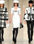 Burberry black and white...