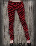 Spodnie zebra