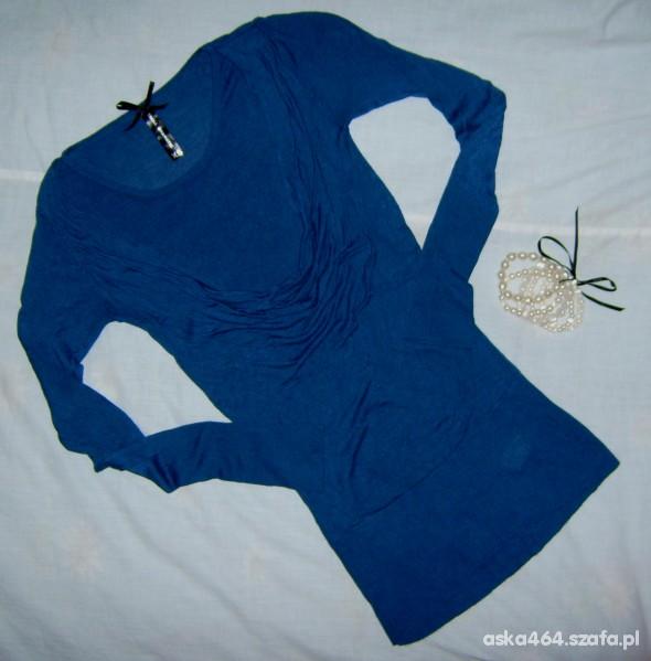 TROLL 34 chabrowy sweterek