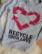 bluza house recycle your love