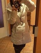 Puchowy płaszczyk Zara