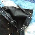 Rękawki metal goth skóra