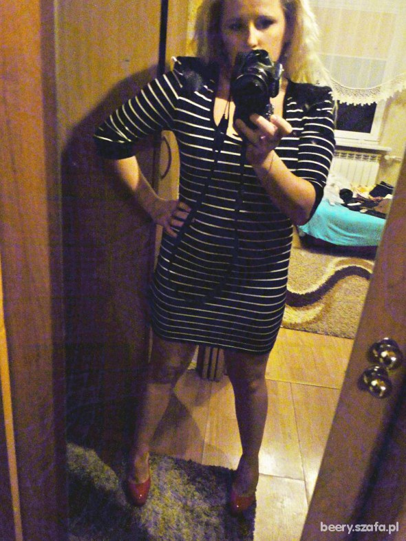 Eleganckie Elegancka tuniko sukienka