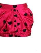 Spódniczka Różowa w serduszka marki Boohoo...
