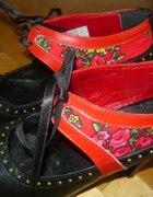 nowe buty w zakopiaskim stylu skora naturalna r 38
