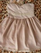 Sukienka beż M