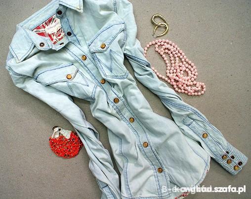 Koszule jeans