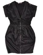 nowa cropp L sukienka zip czarna bombka