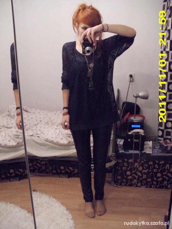 Mój styl Mój koronkowo lateksowy strój na codzień