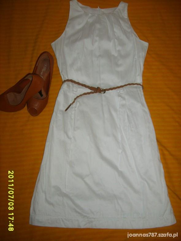 Eleganckie Biała sukienka