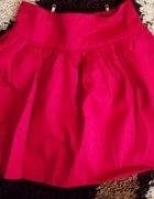 rozkloszowana neonowa spódniczka primark