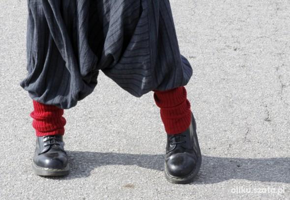 Spodnie b jesienne pumpy