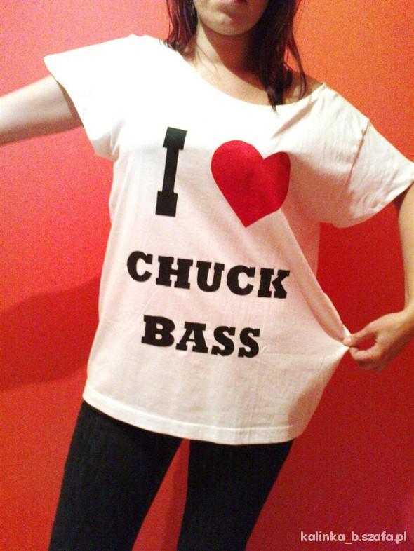 Koszulki oversize I LOVE CHUCK BASS