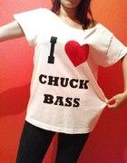 oversize I LOVE CHUCK BASS