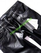 Spodnie z Ekoskórki