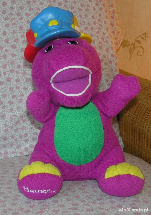 Zabawki dinozaur Barney