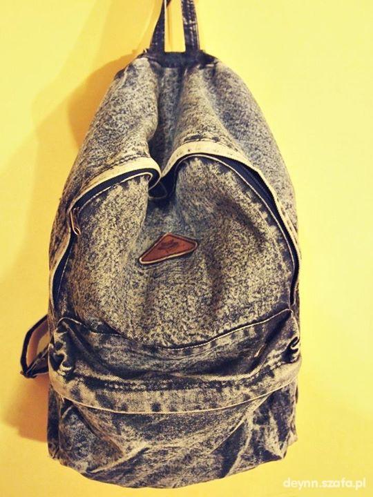 Plecaki jeansowy plecak