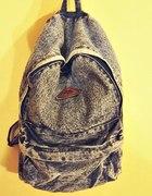 jeansowy plecak