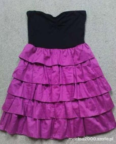 Ubrania sukienka z falbankami 2