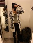 sweter na zimne dni