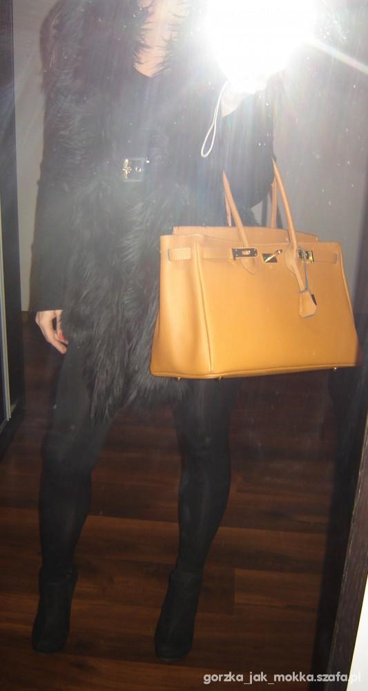 Mój styl Versace for H&M kamizelka Birkin Hermes