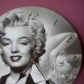 zegar ścienny Merlin Monroe