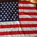Nowa apaszka USA flaga