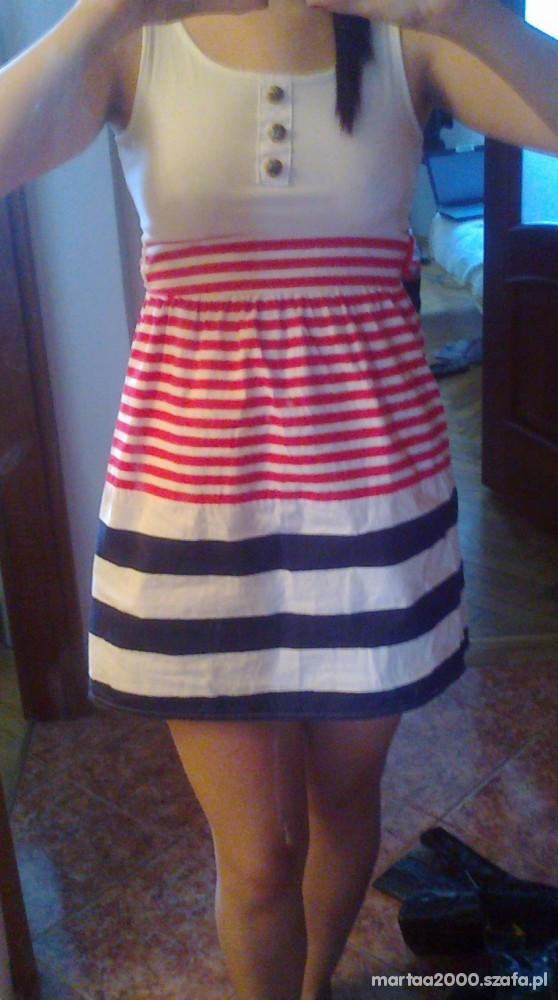 Suknie i sukienki Marynarska sukieneczka