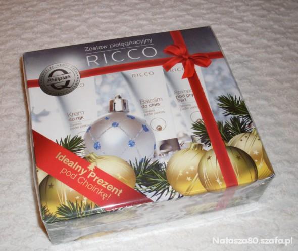 Zestawy Nowy zestaw kosmetyków RICCO z pudrem perłowym