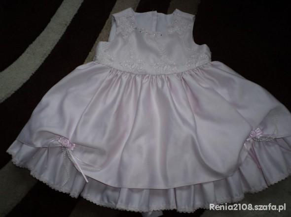 Śliczna sukienka na roczek
